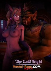 3D Hentai  / Uncensored / The Last Night (World of Warcraft)
